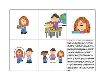 Story Retell: Back-To-School