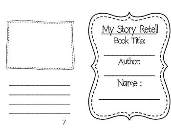 Story Retell Booklet