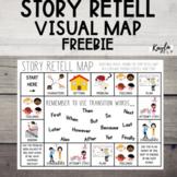 Story Retell Map {FREEBIE}