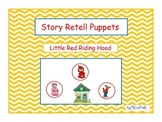 Story Retell Puppets Little Red Riding Hood
