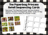 Story Retell Sequencing Cards - The Paperbag Princess