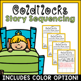 Story Retell & Sequencing Worksheets Goldilocks & the 3 Bears Differentiated