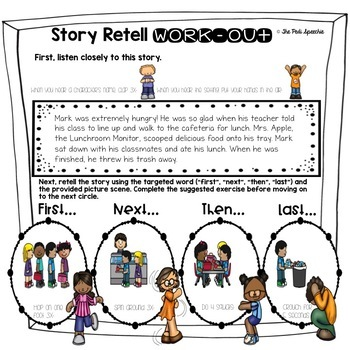 Story Retell and Sequencing | Sequence of Events | Speech and Language