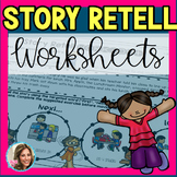 Story Retell and Sequencing   Distance Learning   Speech a