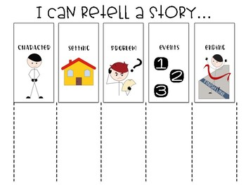 Story Retell Visual