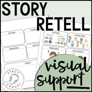Story Retell Visual Support