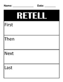 Story Retell and Journal Prompts