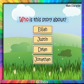 BOOM CARDS Sequencing and Story Retell Summer Edition - Teletherapy NO PRINT