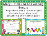 Retell and Sequencing Bundle #dec2018slpmusthave