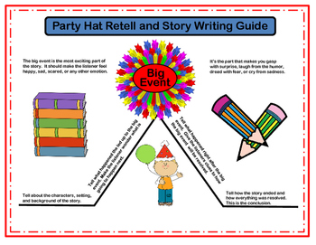FREE Story Retell and Writing Guide