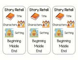 Story Retelling Bookmarks (Primary & Intermediate)