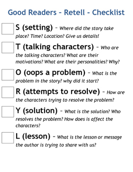 Story Retelling Framework