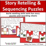Story Retelling and Sequencing Puzzles | Independent Work Packets