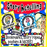 Story Retelling Sequencing Rope Bookmarks