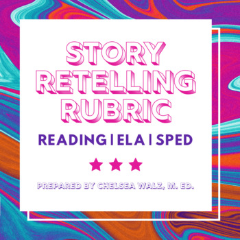 Story Retelling Rubric with Tally Column