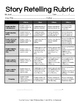 Story Retelling Rubrics Packet