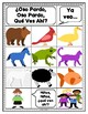 Story Retelling Sheets: Brown Bear, Brown Bear? (Spanish)