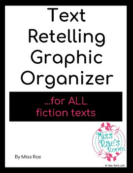 Story Retelling Template Organizer * Reading * Special Education