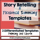 Story Retelling Writing Center Activity