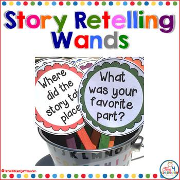 Story Retelling Wands