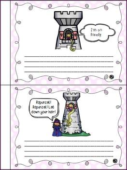 Rapunzel - Story Retelling Worksheets