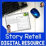 Story Retell and Sequencing | Distance Learning | Speech Therapy