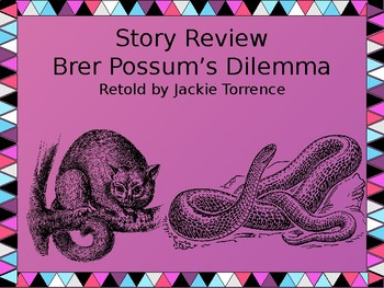 Story Review & Analysis - Brer Possum's Dilemma by Jackie Torrence