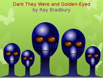 Story Review.Dark They Were and Golden-Eyed Powerpoint