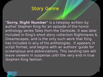 Story Review - Sorry Right Number by Stephen King