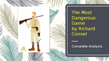 Story Review & Analysis - The Most Dangerous Game by Richard Connell