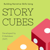 Story Scaffold to use with story cubes