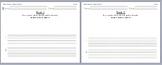 Writing Sentence Practice worksheet Workshop