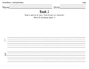 Story Sentence Writing handwriting practice worksheet
