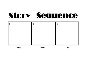 Story Sequence Boards with Samples for Autism