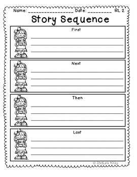 Story Sequence Graphic Organizer 2