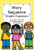 Story Sequence Graphic Organizer - with Digital Files