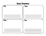 Story Sequence Graphic Organizer