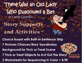 Old Lady Who Swallowed a Bat, Story Sequence Pictures Auti