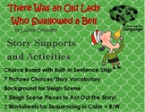 Story Sequence Pictures-Old Lady Who Swallowed a Bell