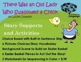 Old Lady Who Swallowed a Chick, Story Companion, Speech/La