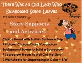 Old Lady Who Swallowed some Leaves, Story Sequence Pictures Autism Support
