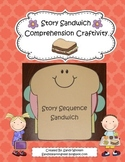 Story Sequence Sandwich Reading Comprehension Craftivity