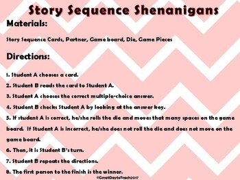 Story Sequence Shenanigans Level 2
