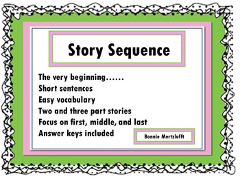 Story Sequence: The very beginning