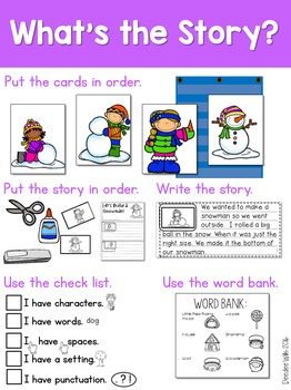 Story Sequence Winter