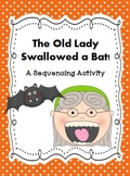 Halloween Story Sequencing Activity~ The Old Lady Swallowed a Bat!