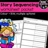 Story Sequencing Templates