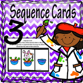 Story Sequencing Cards 3- first, next,end