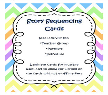 Language Arts Story Sequencing Cards