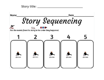 Story Sequencing (Editable)